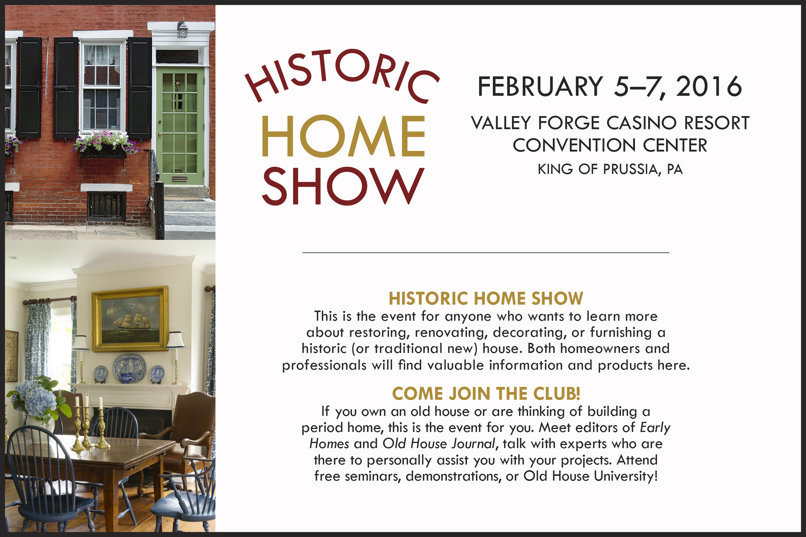 Historic Home Show