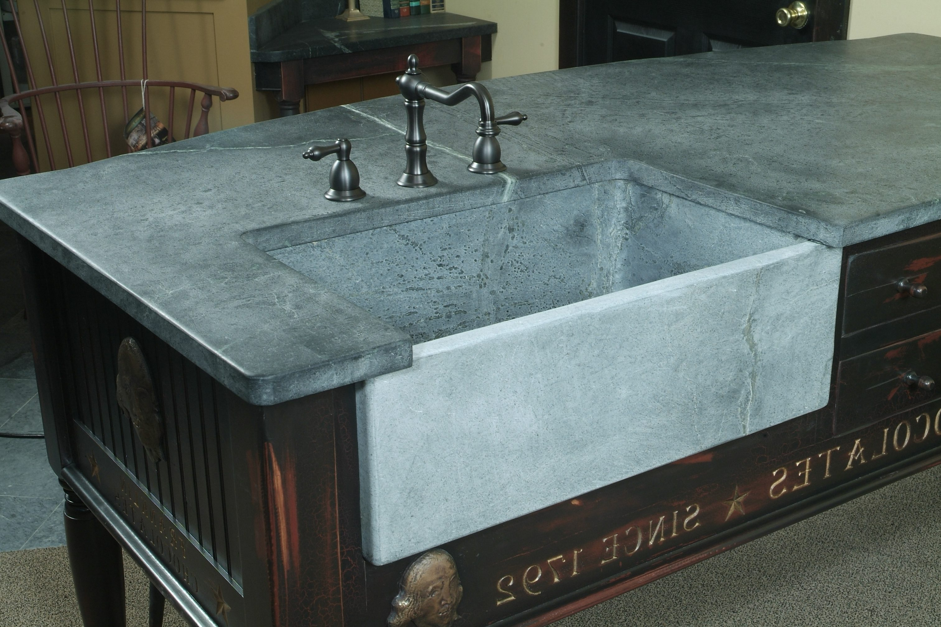 Block Sinks | Bucks Country Soapstone Company Inc.