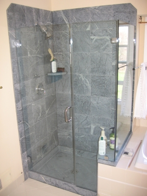 Ernst Shower-tiles and inlays